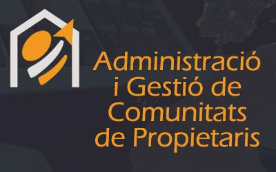 Administració i Gestió de Comunitats de Propietaris